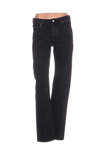 balenciaga jeans femme de couleur noir