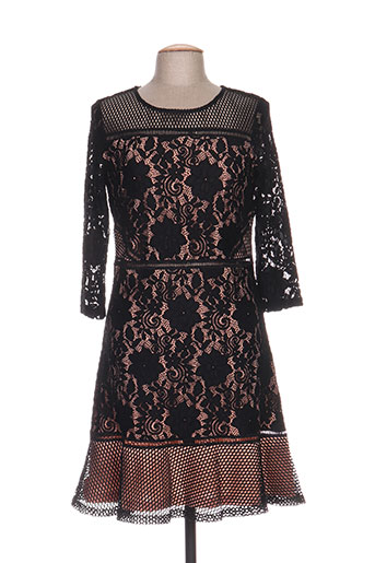 jus d'orange robes femme de couleur noir