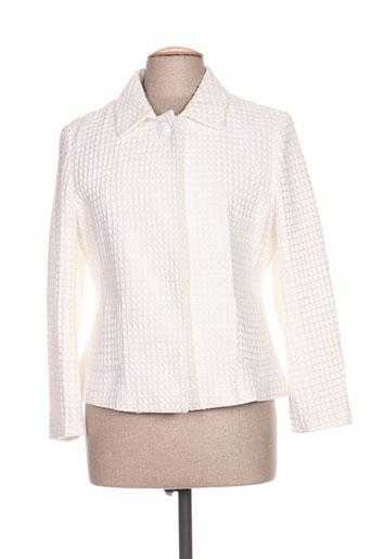 beaumont vestes femme de couleur blanc