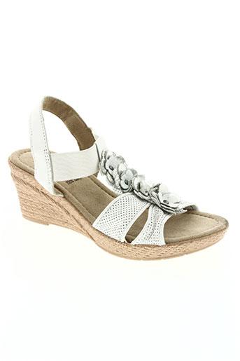 jana chaussures femme de couleur blanc
