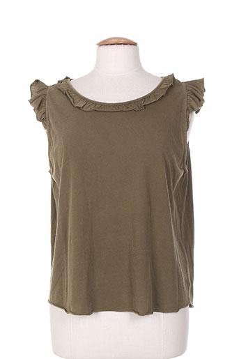 leon EFFI_CHAR_1 harper chemises femme de couleur vert