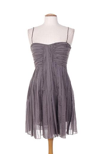 Robe courte gris FORTE-FORTE pour femme