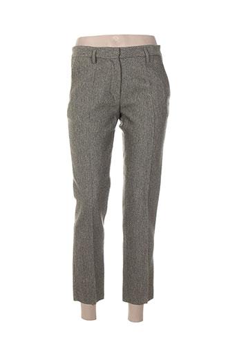 Pantalon 7/8 vert FORTE-FORTE pour femme
