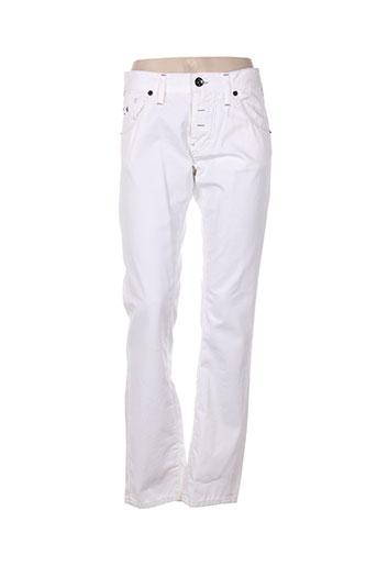 Pantalon casual blanc ENERGIE pour femme