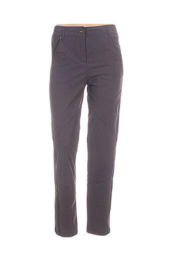 3322 pantalons femme de couleur marron