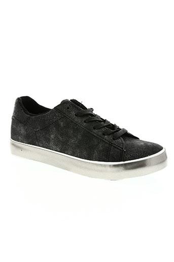 hemji chaussures femme de couleur gris