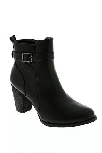 Bottines/Boots noir HEMJI pour femme