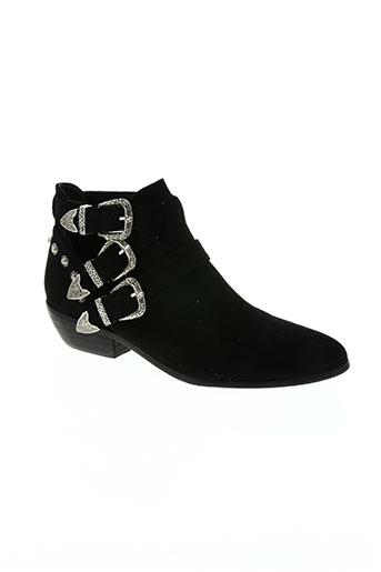 mendelia chaussures femme de couleur noir
