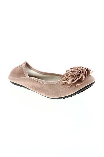 hemji chaussures femme de couleur rose