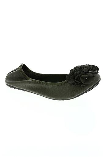 hemji chaussures femme de couleur vert