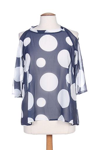 g!oze chemises femme de couleur bleu