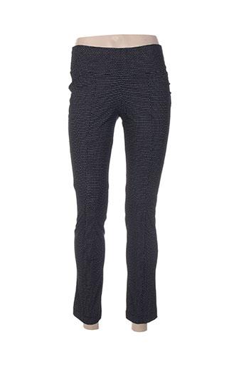 g!oze pantalons femme de couleur noir