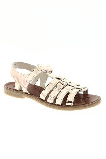 achile chaussures fille de couleur rose