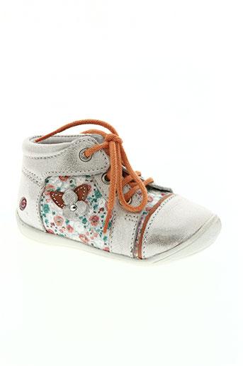 gbb chaussures fille de couleur orange