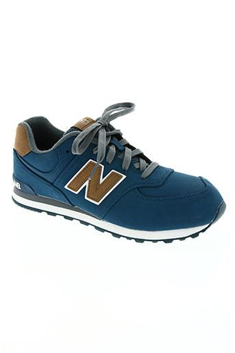 new balance chaussures femme de couleur bleu