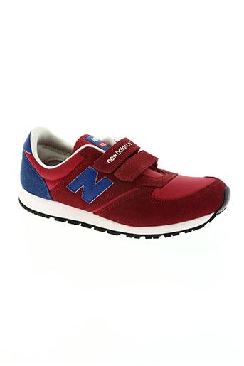 new balance chaussures femme de couleur rouge