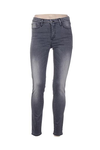 tiffosi jeans femme de couleur gris