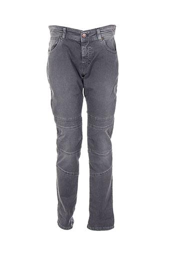 please jeans fille de couleur gris