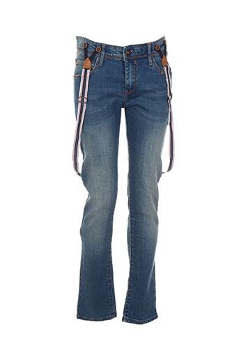tiffosi jeans garçon de couleur bleu