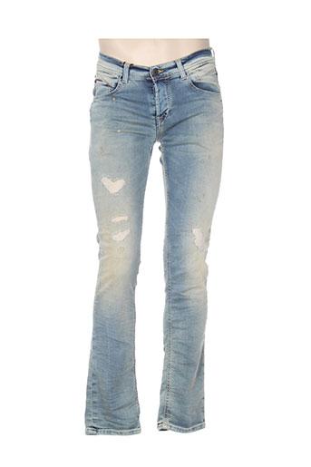 dn.sixty seven jeans homme de couleur bleu