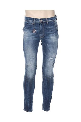 imperial jeans homme de couleur bleu