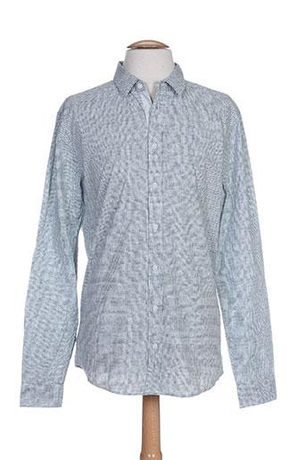 blend chemises homme de couleur gris