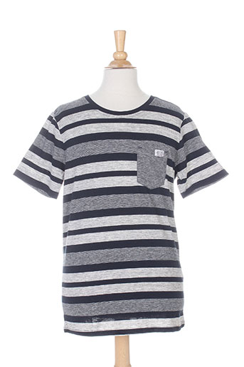 teddy smith t-shirts garçon de couleur bleu