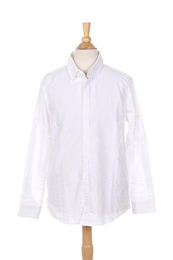 please chemises garçon de couleur blanc