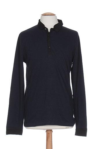 teddy smith t-shirts homme de couleur bleu