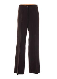 Pantalon casual marron FICELLE pour femme