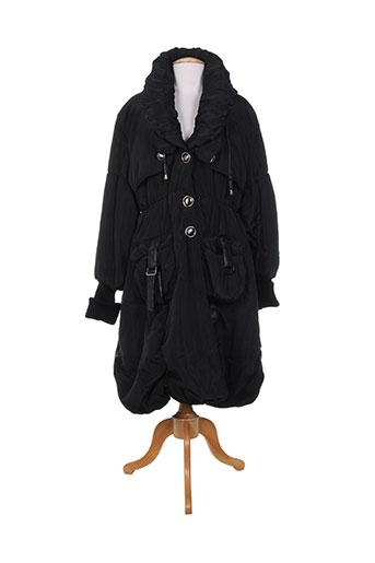neslay manteaux femme de couleur noir