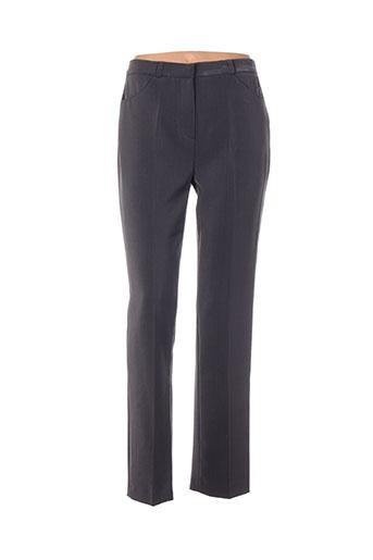 ficelle pantalons femme de couleur gris