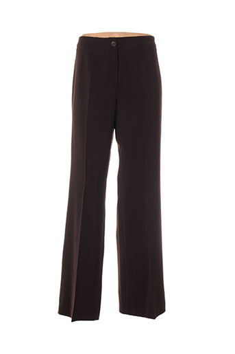 ficelle pantalons femme de couleur marron