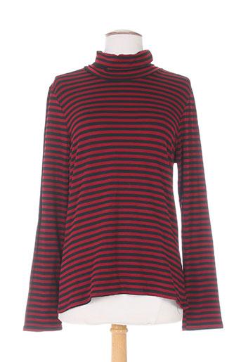 mielo moda t-shirts femme de couleur rouge