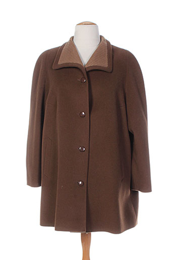 nonet manteaux femme de couleur marron