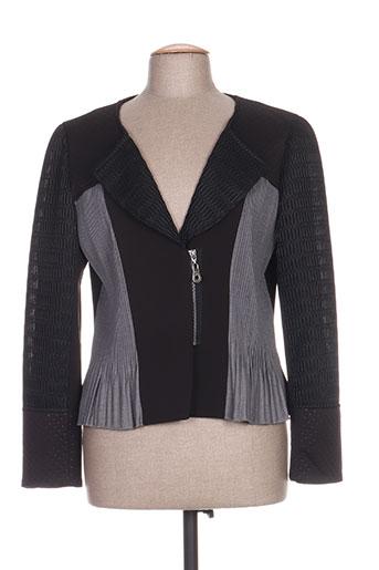 leslie vestes femme de couleur noir