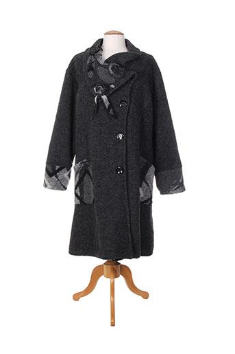 one o one manteaux femme de couleur gris