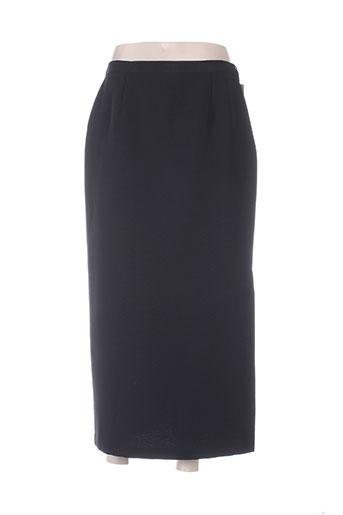 bleu de chine jupes femme de couleur noir