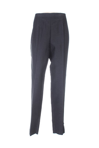 bleu de chine pantalons femme de couleur noir