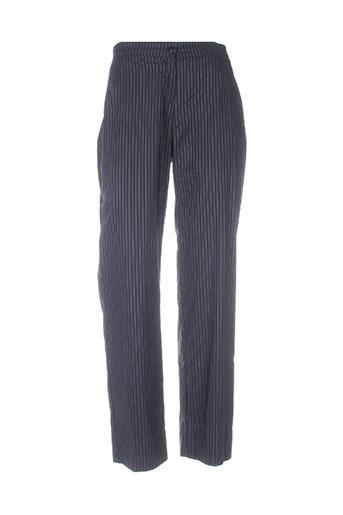 lucchini pantalons femme de couleur noir