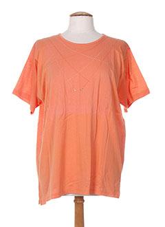 Produit-T-shirts / Tops-Femme-BLEU DE CHINE