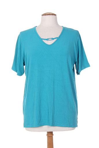 bleu de chine t-shirts femme de couleur bleu