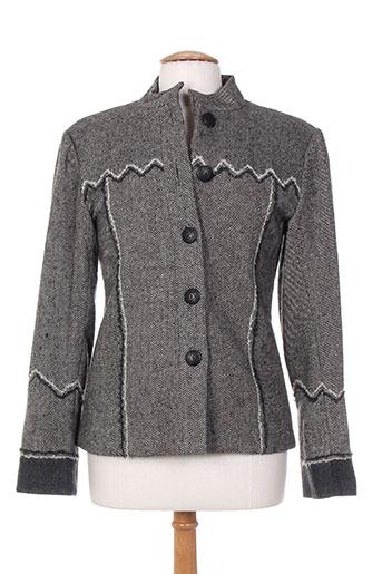 ishwar vestes femme de couleur gris