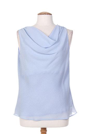 weill chemises femme de couleur bleu