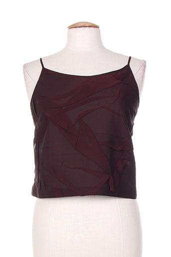 brigitte saget chemises femme de couleur violet