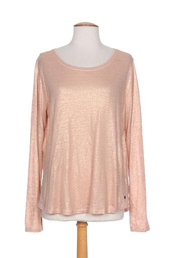 garcia t-shirts femme de couleur rose
