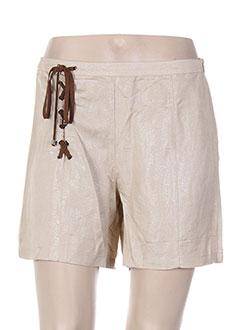 Produit-Shorts / Bermudas-Femme-MY COLLECTION