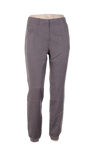 tom tailor pantalons femme de couleur gris