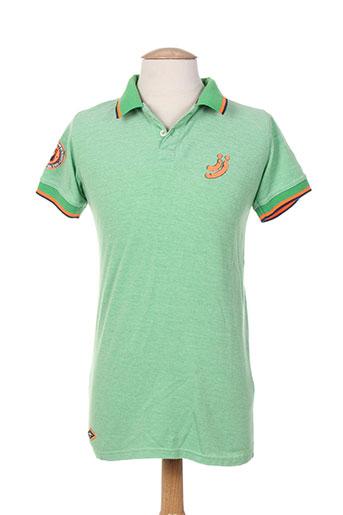 jn-joy t-shirts homme de couleur vert