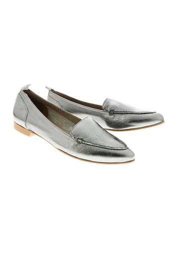 wonders chaussures femme de couleur gris